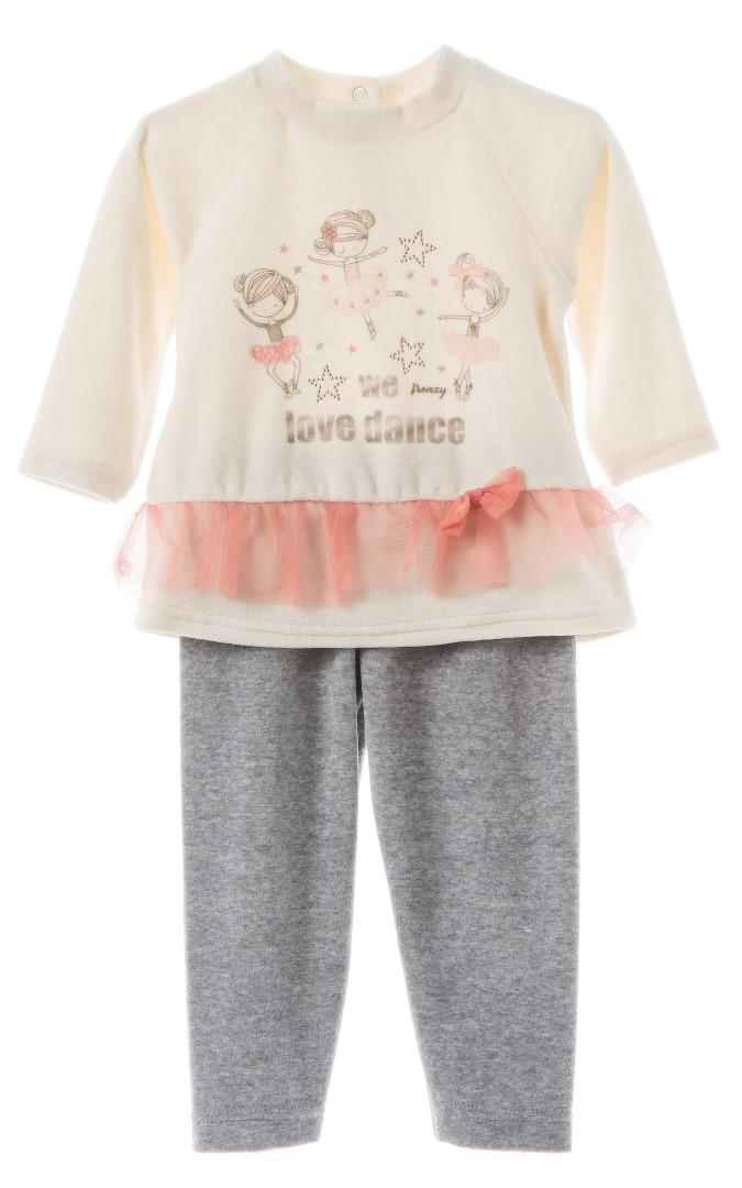 df82757e0ba SET TUNIK LEGGINGS – Ecru grey   Babylon Fashion